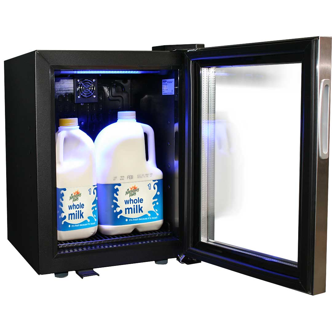 Mini Commercial Bar Fridge Made To Store Milk Designed