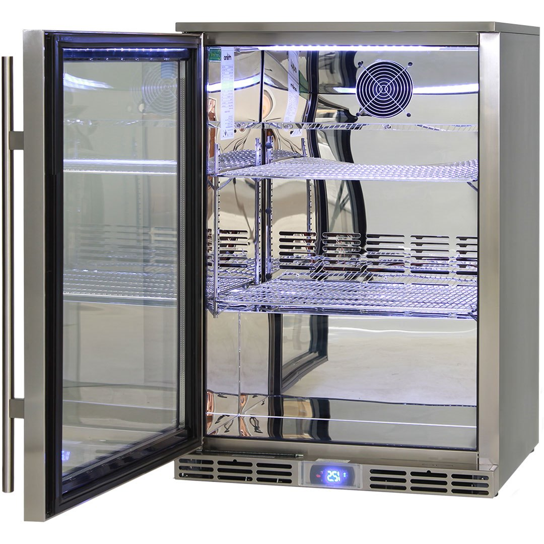 Alfresco Outdoor Rhino Glass Door Bar Fridge Energy