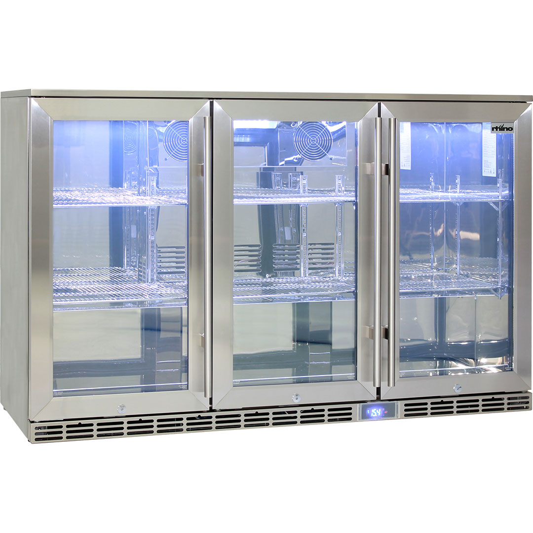 Rhino Gsp3h Ss Alfresco Bar Fridge 1