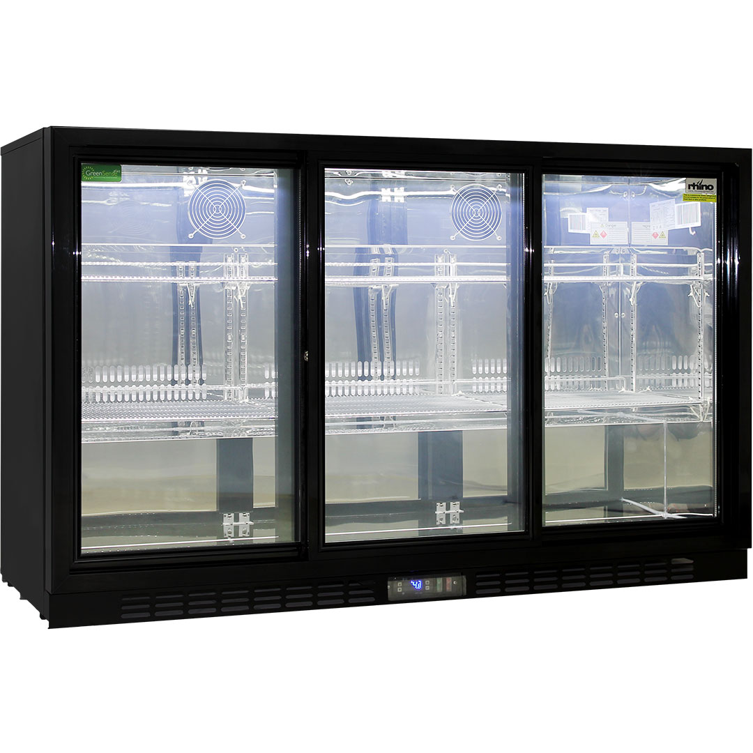 Rhino-Sliding-3-Door-Commercial-Bar-Fridge-SG3S- ...  sc 1 st  Bar Fridges & Commercial 3 Sliding Doors Alfresco Glass Door Fridge With LG Compressor