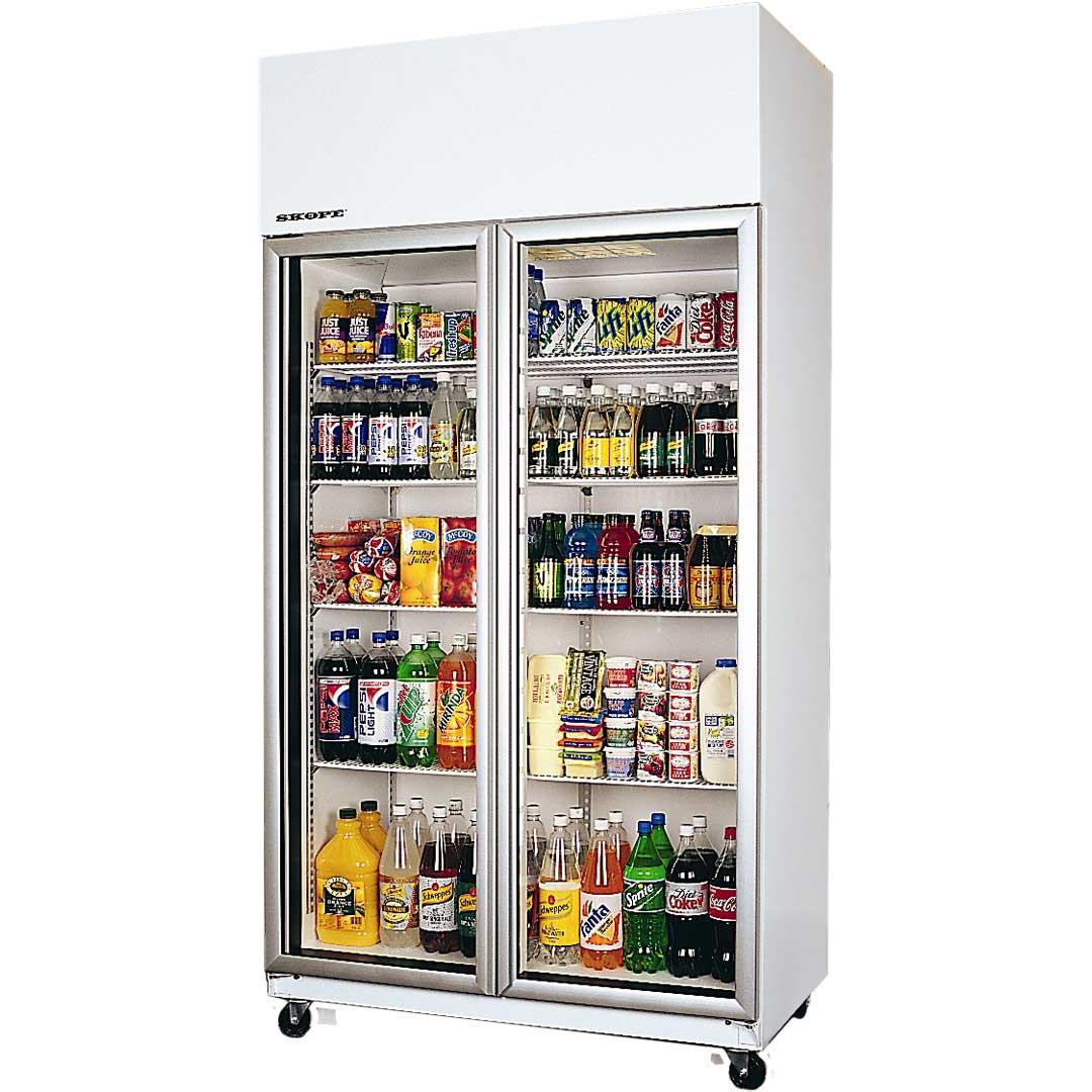 Commercial Glass Door Display Bar Fridge Skope Tme1000 Australia