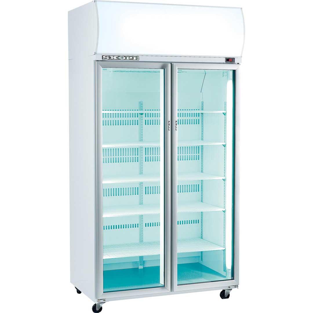 Commercial Glass Door Display Bar Fridge Skope Tme1000