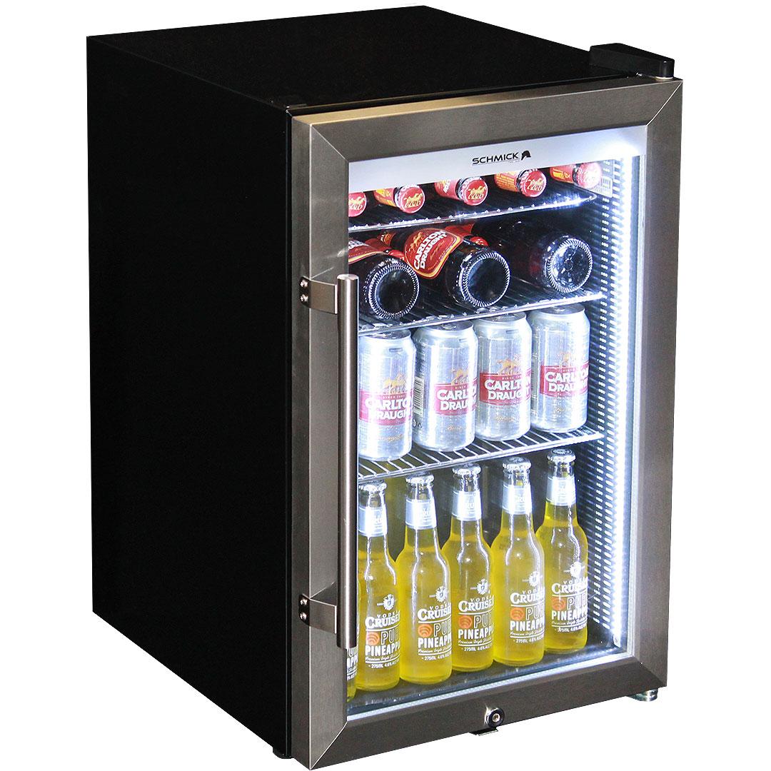 Alfresco tropical rated bar fridge triple glazed door and for 1 glass door refrigerator