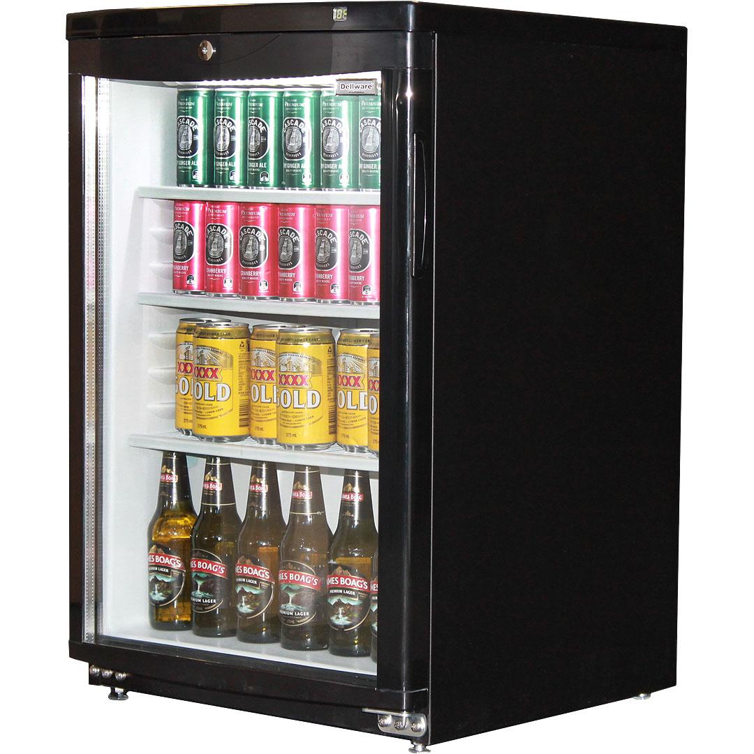 Commercial Glass Door Bar Fridge 92litre Delivery