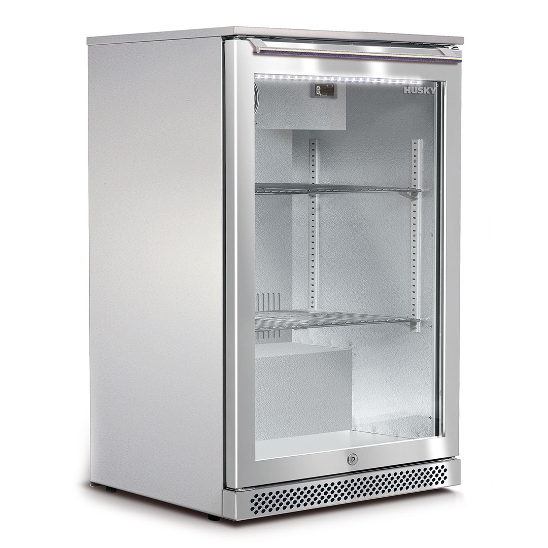 Husky-Alfresco-Glass-Door-Bar-Fridge-C1HY-Alf-