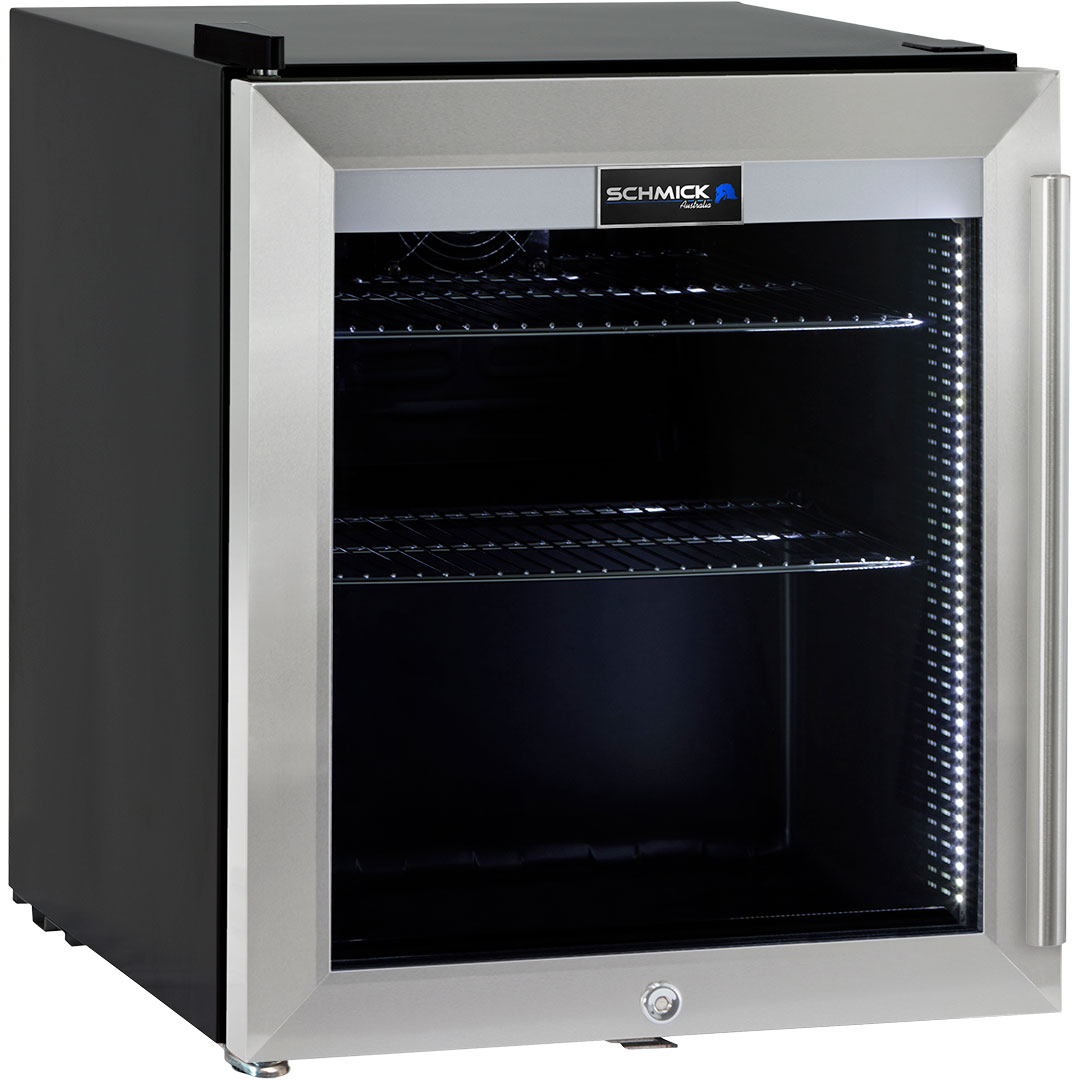 Glass Door Bar Fridge Tropical Rated Led Lighting And