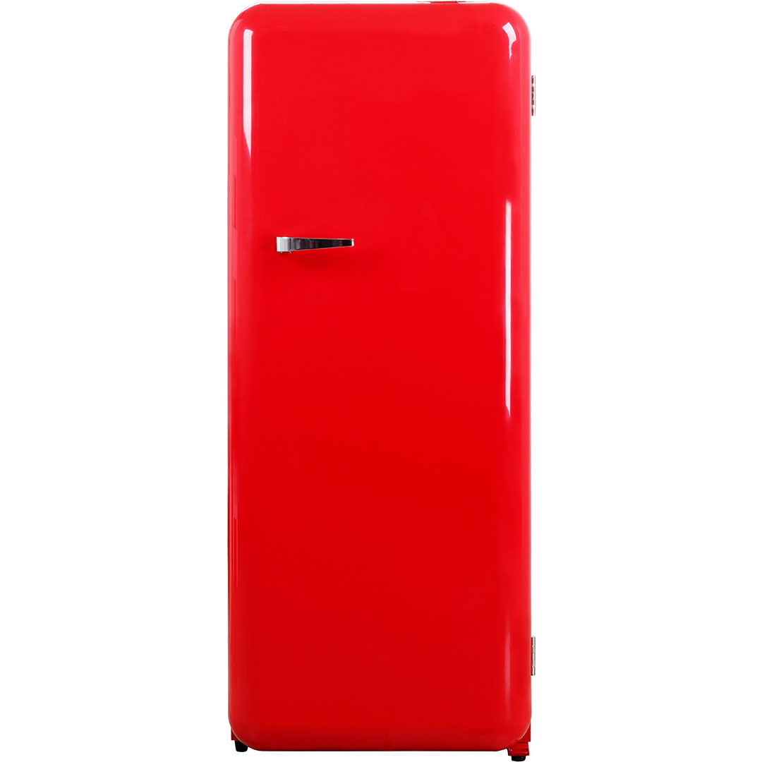 Red Retro Vintage Tall Bar Fridge Refrigerator Great For