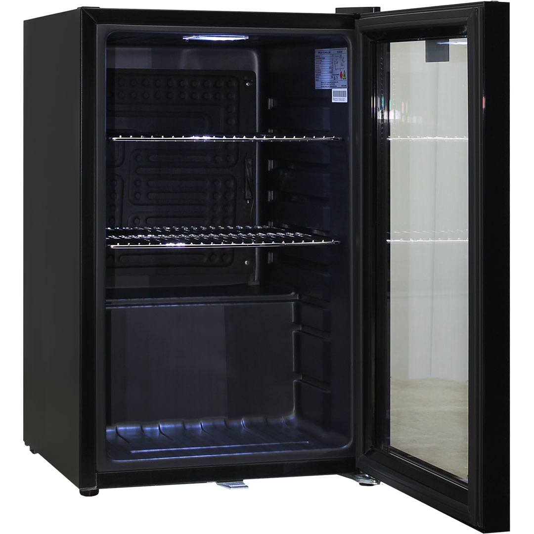 Black Schmick Bar Fridge Low E Glass Door And Lock Delivery