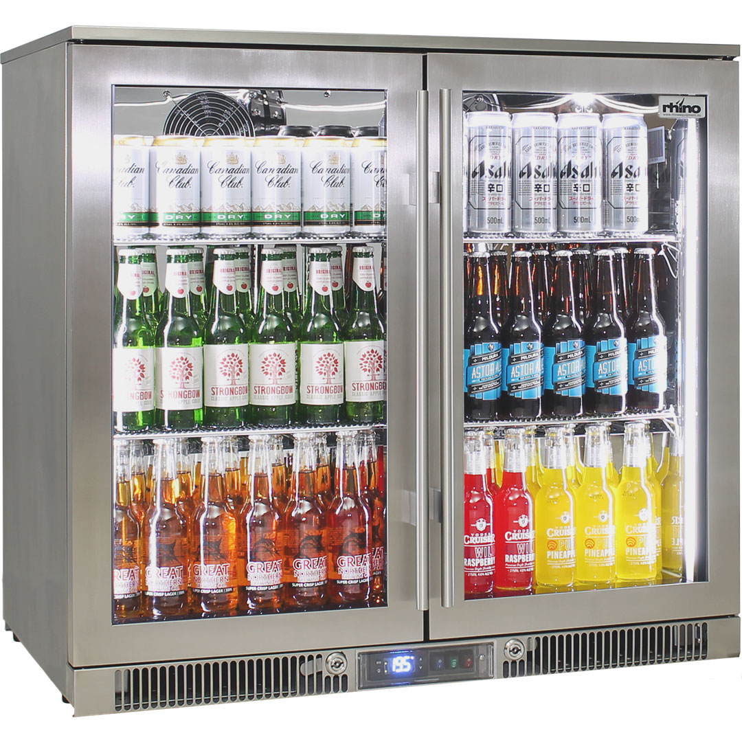 Rhino Envy 2 Door Alfresco Outside Bar Fridge Lowest