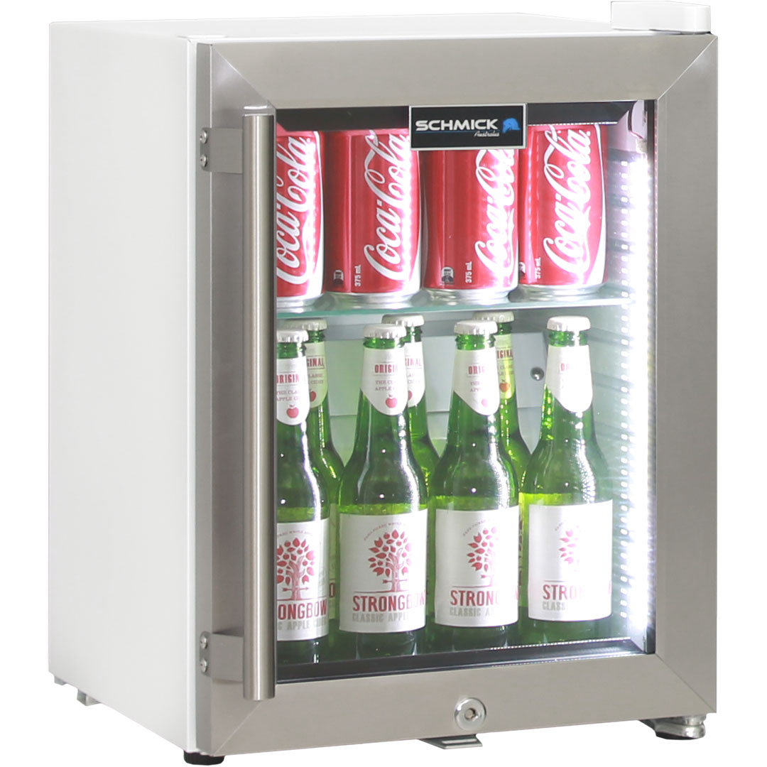 mini on white fridge image with background vector display drink cooler isolated glass stock door