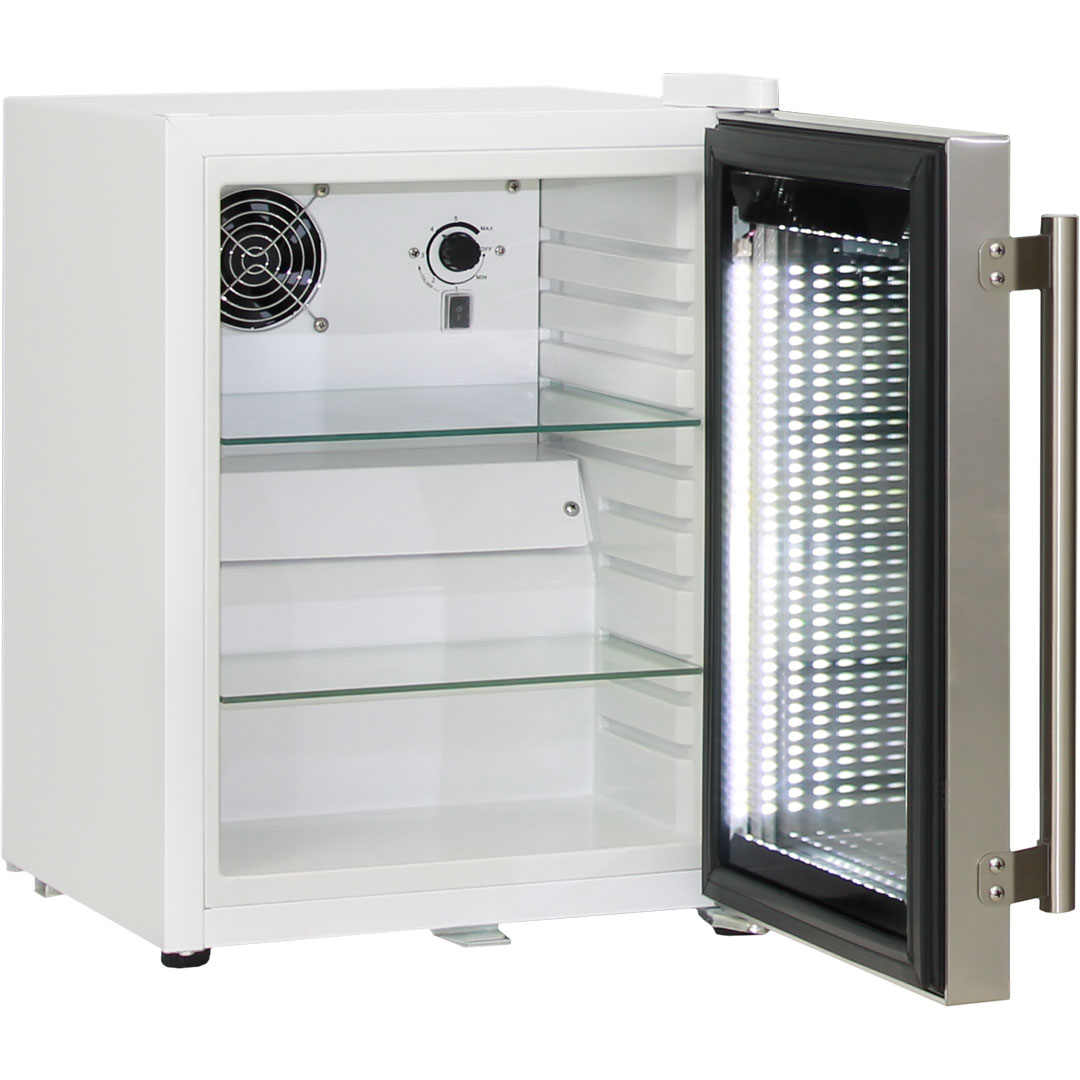 Mini Glass Door Bar Fridge White Color Model Sc23 Schmick