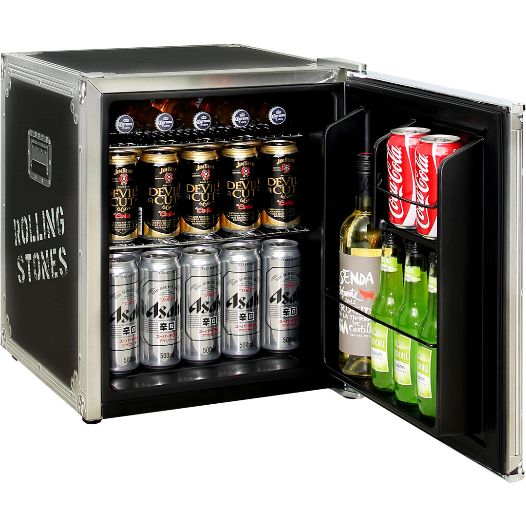 Bar Fridge Mini Retro Rolling Stones A Great Gift Idea