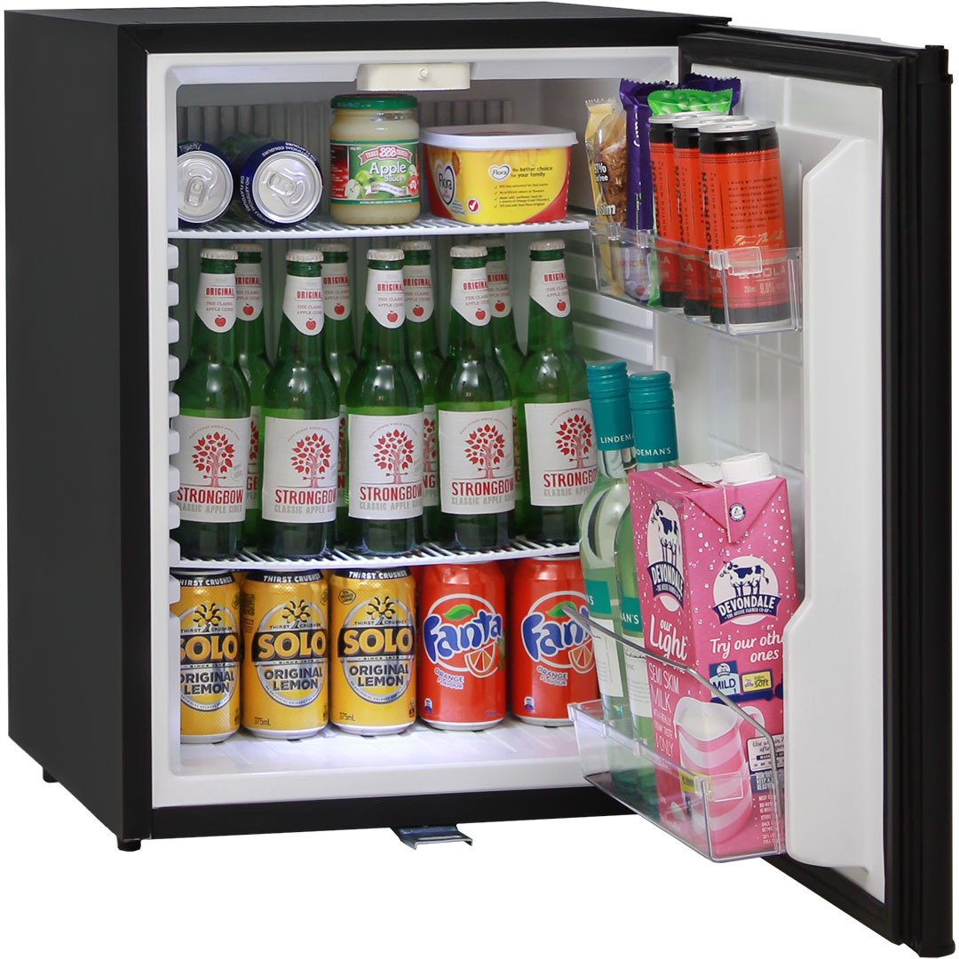 Silent No Noise Mini Bar Fridge Silent Asbortion Cooling