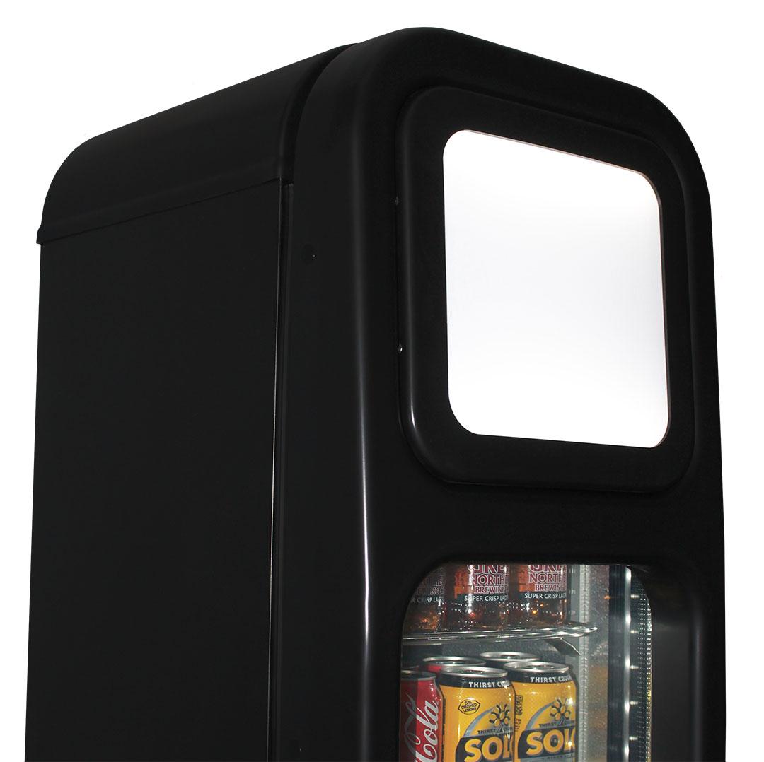Tropical Triple Glazed Door Upright Skinny Commercial Bar