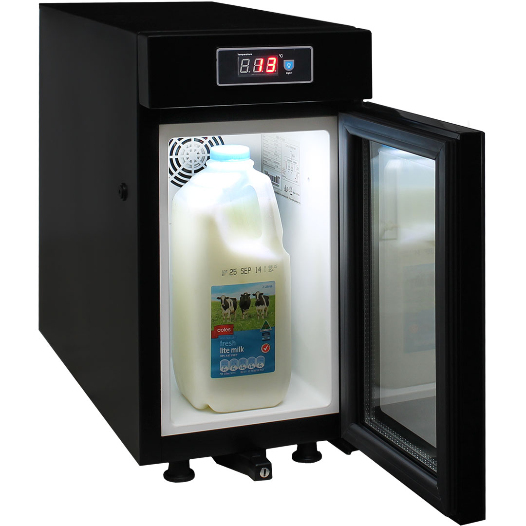 Mini Milk Fridge With Thin Width Keeping Contents Under