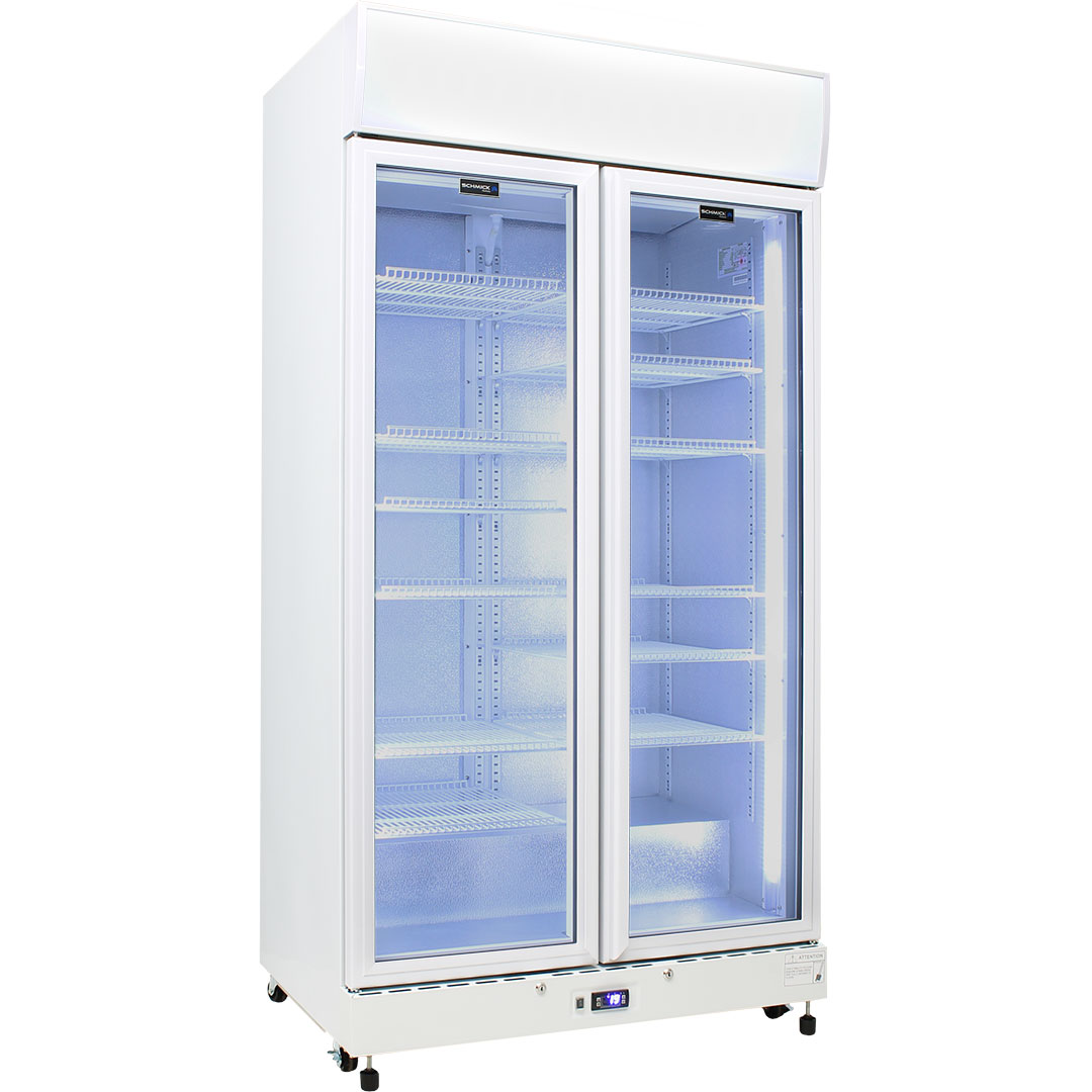 Schmick Glass Door Upright Commercial Energy Saving Bar