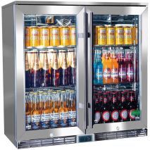Rhino GSP Alfresco Glass Door Bar Fridge Model GSP2H-SS-(1)