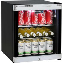 Schmick-Black-Mini-Glass-Door-Bar-Fridge-With-Lock  2