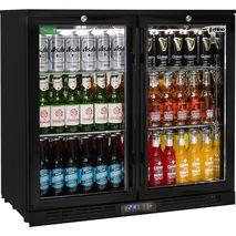 Rhino-Under-Bench-Black-2-Door-Commercial-Alfresco-Bar-Fridge  2  y6kb-ci