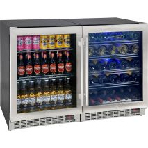 Bar-Fridge-Beer-Wine-Combination-Quiet-Underbech-YC150-Combo  2