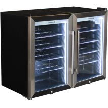 Alfresco-Triple-Glazed-Tropical-Mini-Glass-Door-Refrigerator-COMBO