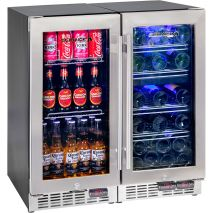 Beer-Wine-Bar-Fridge-YC100-Combo (6)