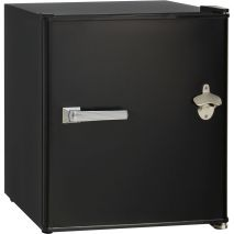 Schmick-Retro-Vintage-Mini-Bar-Fridge-Black  1