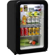 Schmick-Black-Retro-Glass-Door-Bar-Fridge  2