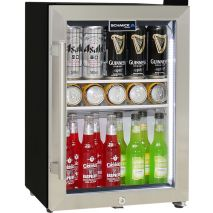 Schmick-Mini-Shallow-Glass-Door-Bar-Fridge-HUS-SC35-SS  2