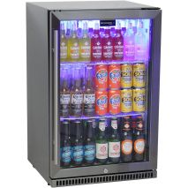 Schmick-Alfresco-Bar-Fridge-Heated-Glass-Black-Stainless-Steel-SK118-BS  3