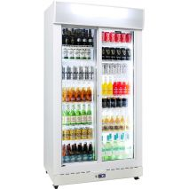 Sliding-2-Door-Upright-Commercial-Bar-Fridge-Schmick-HUS-C800XS  3