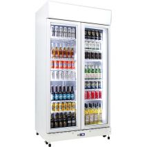 Upright-Commercial-Glass-2-Door-Bar-Fridge-Schmick-HUS-C800X  4