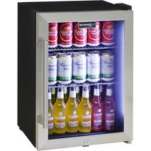 Schmick-Shallow-Depth-Mini-Glass -Door-Bar-Fridge-SC35-SS  3