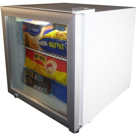 Dellware Little Mini Glass Door Freezer 50Litre Model DW-SD50-(3)