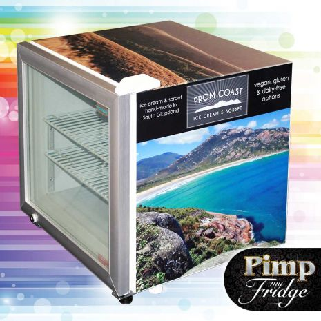 Dellware Little Mini Glass Door Freezer 50Litre Model DW-SD50-(7)