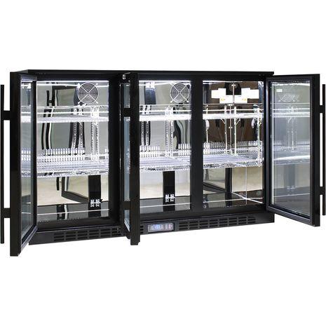 Rhino-Commercial-3-Door-Glass-Bar-Fridge  3