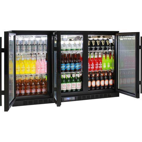 Rhino-Commercial-3-Door-Glass-Bar-Fridge  4