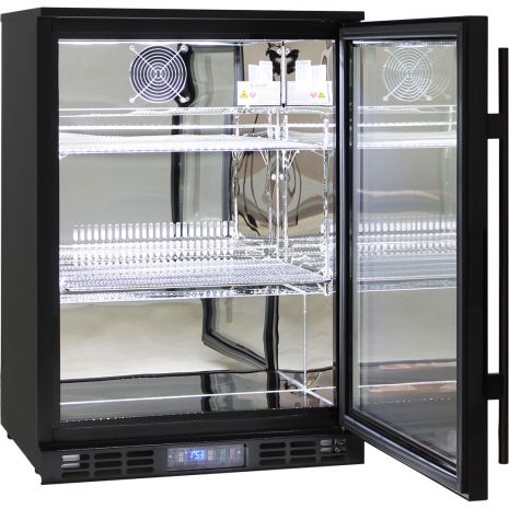Rhino-Glass-Commercial-Bar-Pub-Fridge-Black-SG1R-B  1