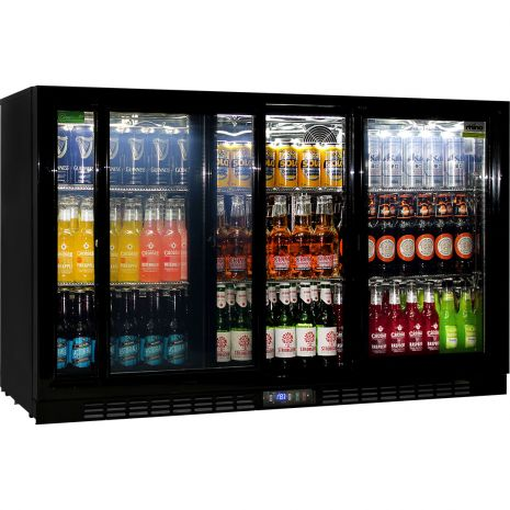 Rhino-Sliding-3-Door-Commercial-Bar-Fridge-SG3S-B  3