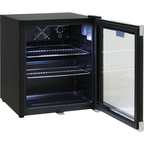 Schmick-Black-Mini-Glass-Door-Bar-Fridge-With-Lock  3