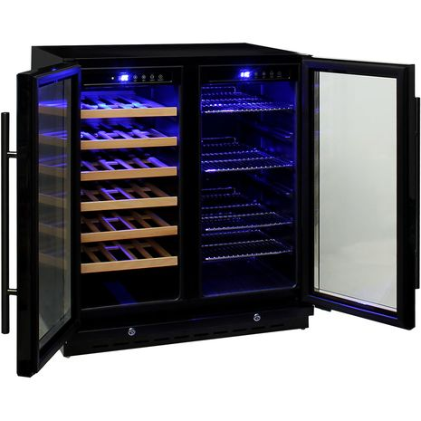 Under-Bench-Quiet-Beer-And-Wine-Combination-Bar-Fridge-Model-JC165  8  2ckz-2s