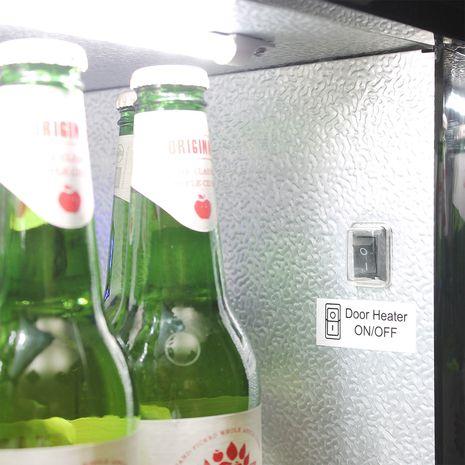 Schmick-Alfresco-2-Door-Heated-Glass-Fridge-White-Led-SK190-B  7