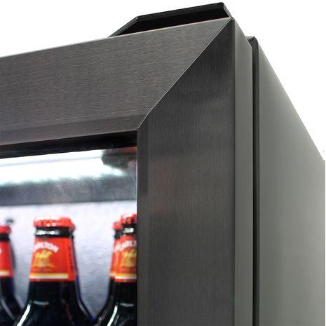 Schmick-Alfresco-Drinks-Fridge-Heated-Glass-SK190-BS-White-Led  8