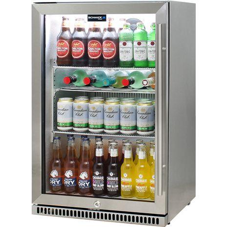 Schmick-Alfresco-Refrigerator-Heated-Glass-Door-SK118L-SS  11