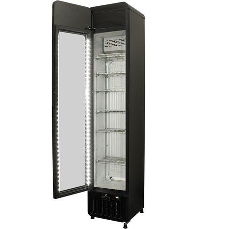 Schmick-Skinny-Upright-Tall-Bar-Fridge-Flat-Glass-Door-SK135L-X  3