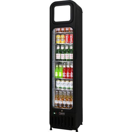 Skinny-Thin-Upright-Glass-Door-Bar-Fridge-SK135  4 LHH