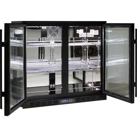 Rhino-Under-Bench-Black-2-Door-Commercial-Alfresco-Bar-Fridge  4  0dcj-wj