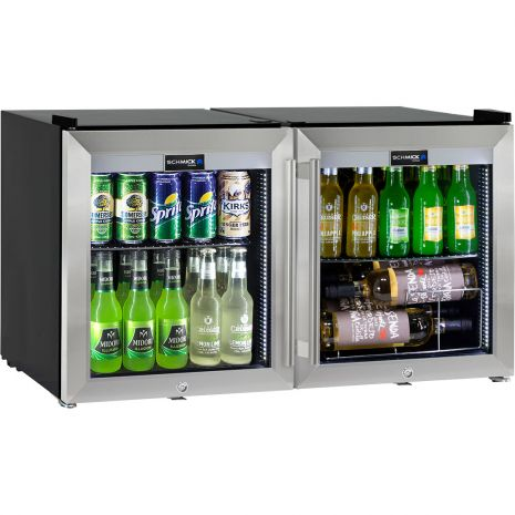2-Door-Glass-Mini-Fridge-HUS-SC50-SS-COMBO  4