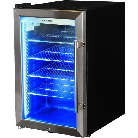 Outdoor Triple Glazed Alfresco Glass Door Bar Fridge With Lock