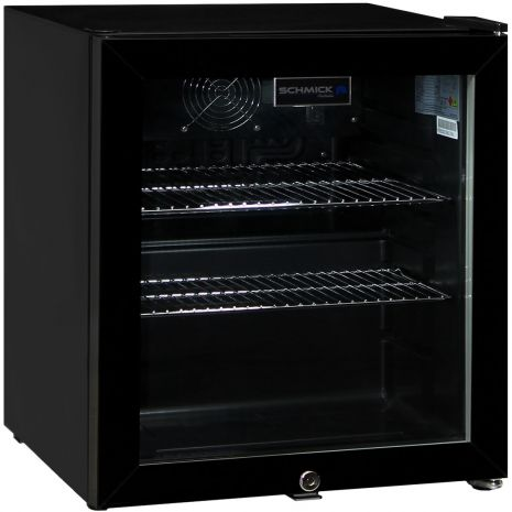 Black-Glass-Door-Mini-Bar-Fridge-50-Litre-HUS-SC50AB  2